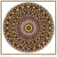 Zoom Mandala Collab with lou-in-canada by Quaddles-Roost