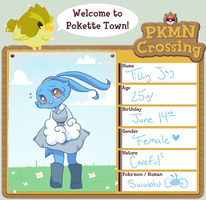 PKMN-Cross App: Tilly Jay the Swablu by Ruhianna