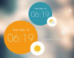 Circle Widget 2 for xwidget by jimking