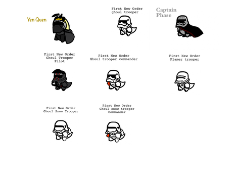 The First New Order troopers by AskHoneyWoman