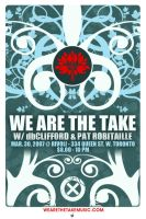 We Are The Take - Flyer 07 by agentfive