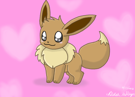 Eevee used Attract! by EeveePikachuChan