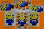 My First Despicable Minion Birthday Cake by InkArtWriter