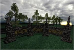 Entrance wall Concept by jbrentf