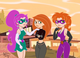 KP meets the Gemgirls by enigmawing