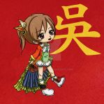 Dynasty Warriors 8 - Xiao Qiao by Momoko122