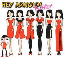 Hey Arnold fashion: Ronda by Willemijn1991