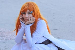 Orihime cosplay by amio-mio