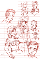 EoH Graduation Sketchdump by ErinPtah