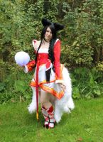 Ahri cosplay part 3 by Nimrohdil