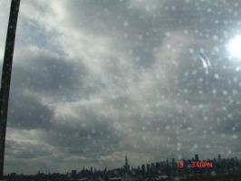 Sky: View from a Car by MarinaMoon