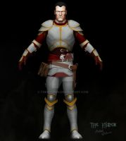 Human Kain Last Hope Armor WIP by TheHylden