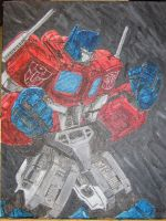Optimus Prime by Elkayen