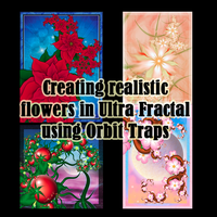 Making realistic flowers in UF by Liuanta