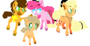 :HC:Cheesy Applepie Future Family by angelstar000