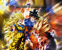 Dragonball Z Wallpaper by corki-gfx