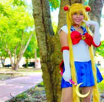Smiling Sailor Moon! by DeathScarlet