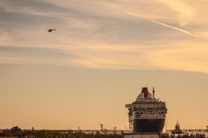 Queen Mary Departs by DylserX