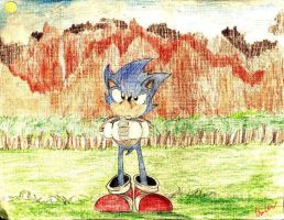 Old Art- SONIC CD by nyausi