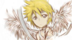 Roxas colored by CandySweetz