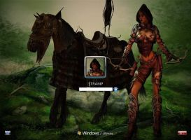 Archer of the Moors vista7 by stramp1a