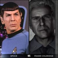 Silent-Trek Frank Coleridge VS Spock by Samantha-Bartlett