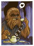 Tea Time for Chewie by jiggly