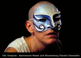 Arial - The Tempest - mask by Alyssa-Ravenwood