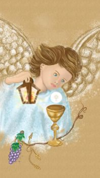 Remembrance of communion by SandraAJ
