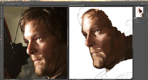 Daryl WIP by DKYingst