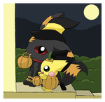 Trick or Treat? by pichu90