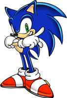 Sonic Adventure Style Sonic by SpeedTheHedgehog101
