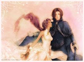 Anthy and Alex by e-soulu