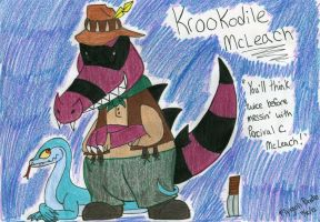 Krookodile McLeach by FlygonPirate