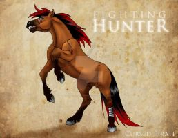Hunter Reference by the-Cursed-Pirate