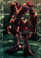 Pacific Rim - The Red Queen, Sarawak's Jaeger by Kevin-Glint