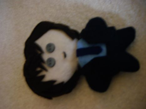 Takagi Plushie dark suit by Red-and-Gold-Phoenix