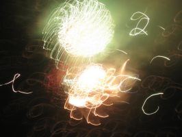 abstract firework3 by Postreman