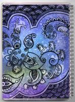 silly notebook art by yael360