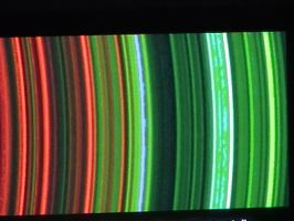 Saturn's rings UV spectrum by tarotist