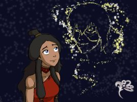 Zutara Week: Fireflies by svyre