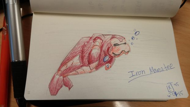 Iron Manatee by Lazulina