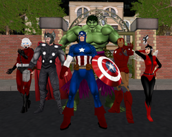 Avengers of Marvel Roleplay by EnglishDamsel