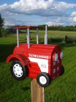Tractor Mailbox by Skihaas1