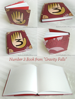 Number 3 Book from Gravity Falls by MyFebronia