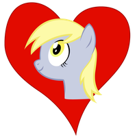 I heart Derpy by Stinkehund