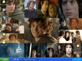 Frodo Collage by drumgirl