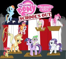 My Little Pony: School's Out by Trey-Vore