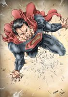 Man Of Steel by sambis