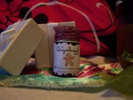 AG doll sized REAL Gingerbread man scrub by whimsyandmalice